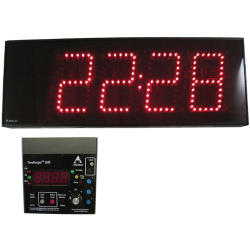 alzatex ALZM06A Presentation TimeKeeper System with LED Display (Black)