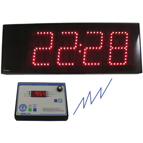 alzatex ALZM07A Presentation TimeKeeper System with LED Display (Black)