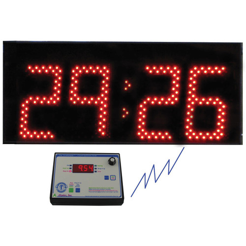 alzatex ALZM09A Presentation TimeKeeper System with LED Display (Black)