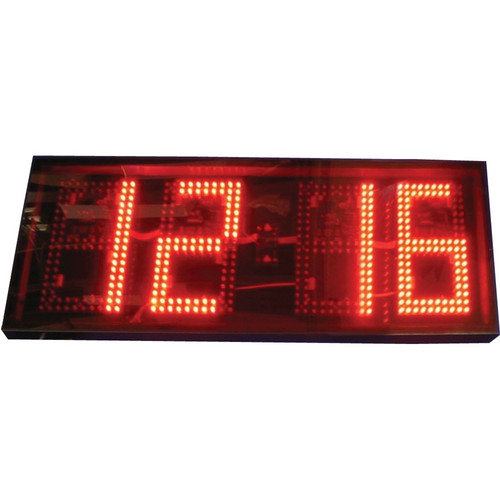 "alzatex DSP1004B 4-Digit Display with 10"" High LED Digits"