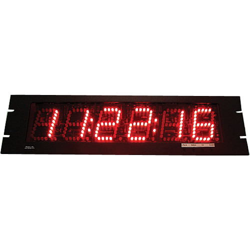 """alzatex DSP206B4_RM 6-Digit Display with 2.5"""" High LED Digits"""