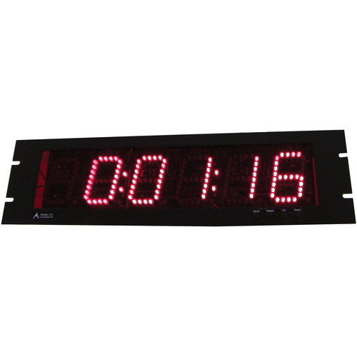 "alzatex DSP206B4_RMPS 6-Digit Display with 2-1/2"" High LED Digits"