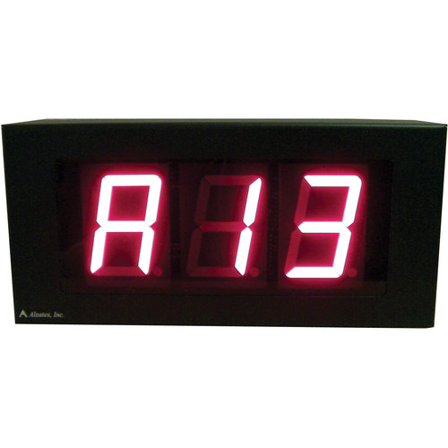 "alzatex DSP253B 3-Digit Display with 2.33""-High Solid-Segment Digits"