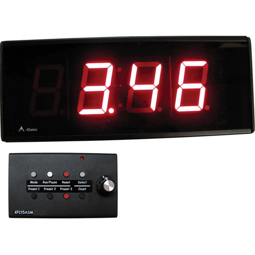"alzatex DSP254B_D 4-Digit Display with 2.33"" High Solid Segment Digits"