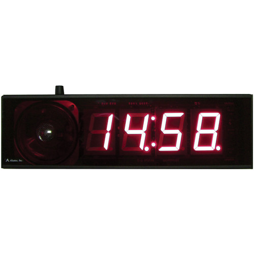 "alzatex DSP254B_TG 4-Digit Display with 2.33"" High Digits (Black)"
