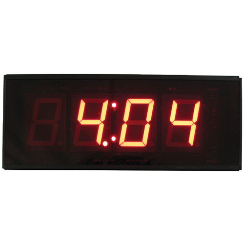 "alzatex DSP254BT 4-Digit Display with 2.33"" High Solid-Segment Digits (Black)"