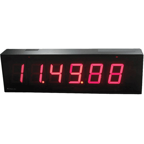 "alzatex DSP256B 6-Digit Display with 2.33""-High Solid-Segment Digits"