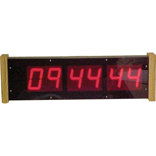 "alzatex DSP256B_OAKE 6-Digit Display with 2.33""-High Solid-Segment Digits"