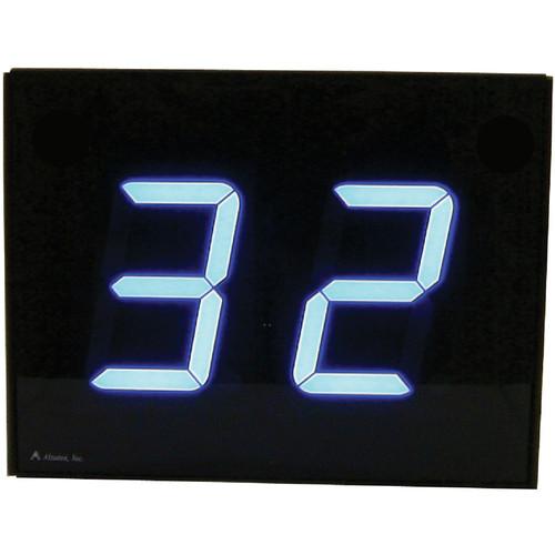 "alzatex DSP452B 2-Digit Display with 4"" High Solid-Segment Digits"