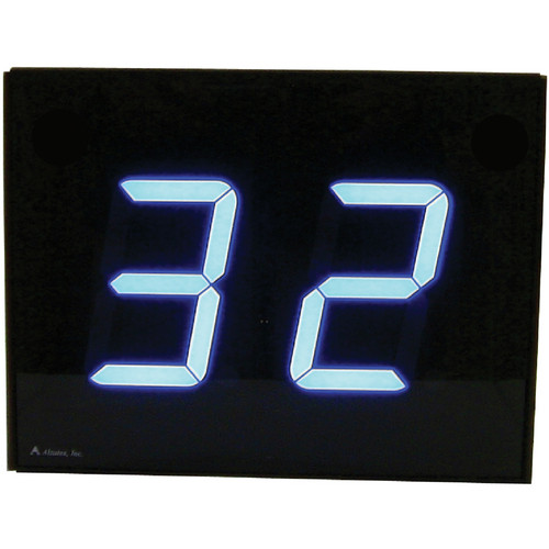 "alzatex DSP452B 2-Digit Display with 4"" High Solid-Segment Digits"