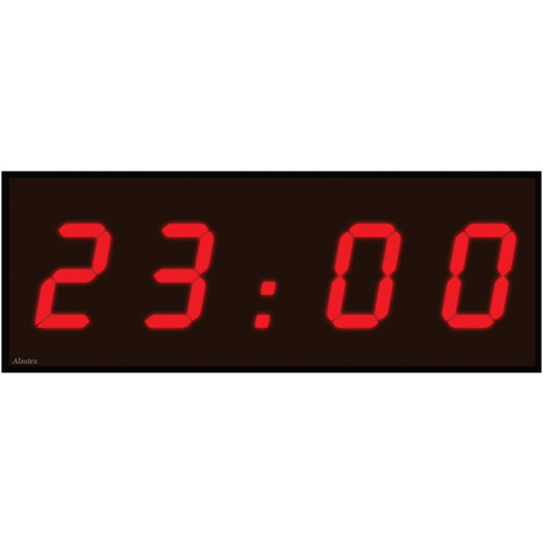"alzatex DSP504B6 4-Digit Display with 5"" High Digits"