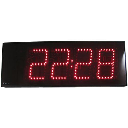"alzatex DSP504B 4-Digit Display with 5"" High LED Digits"