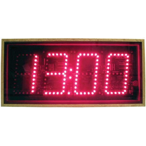 "alzatex DSP504B_OAK 4-Digit Display with 5"" High LED Digits"