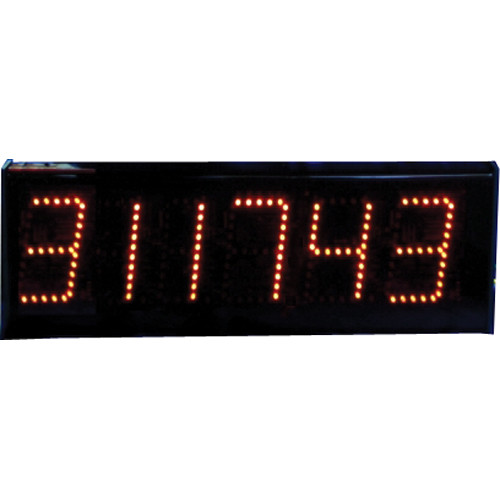"alzatex DSP506B 6-Digit Display with 5"" High LED Digits"