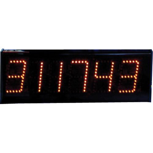 "alzatex DSP506B 6-Digit Display with 5"" High LED Digits"