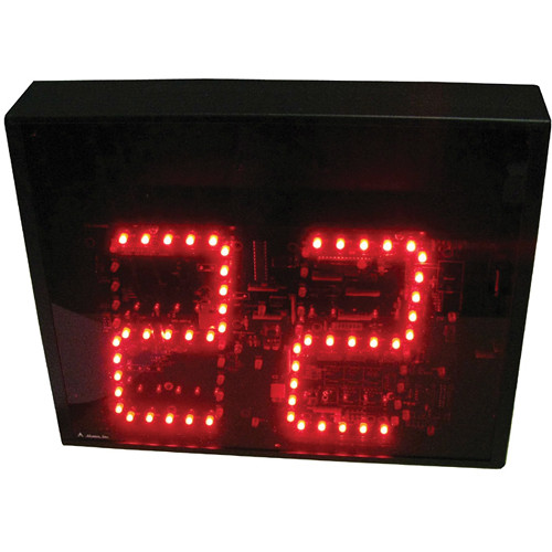 "alzatex DSP602B 2-Digit Display with 6"" High LED Digits"