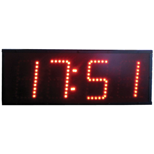 "alzatex DSP604B 4-Digit Display with 6"" High LED Digits"