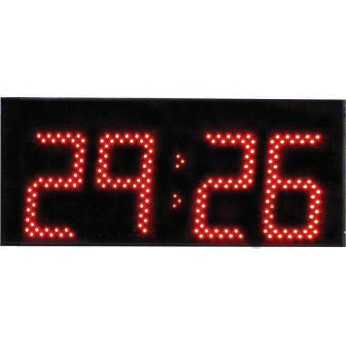 "alzatex DSP704B 4-Digit Display with 7"" High LED Digits"