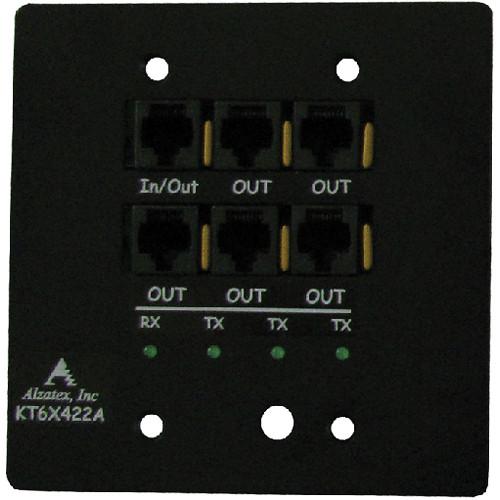 alzatex KT6X422A Six-RJ45-Port RS422 Driver Module