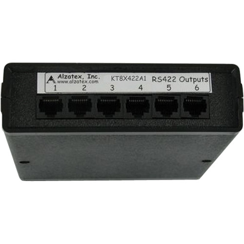 alzatex KT8X422A1 RS422 Driver Module with 8 RJ45 Jacks
