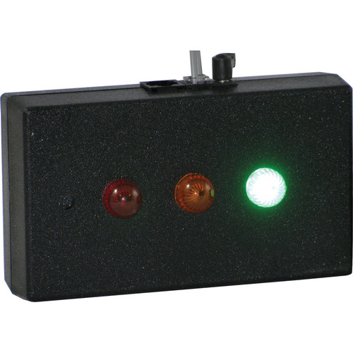 alzatex RYG11ABK Tabletop Red-Yellow-Green Indicator Unit (Black)