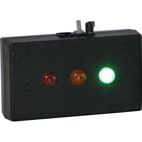 alzatex RYG11ABK Tabletop Red-Yellow-Green Indicator Unit (Black)