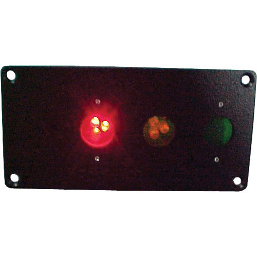 alzatex RYG13A Flush-Mount Red-Yellow-Green Unit (Black)
