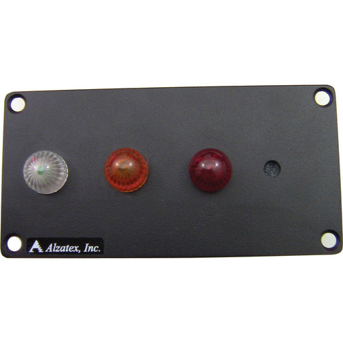 alzatex RYG13AB Flush-Mount Red-Yellow-Green Unit (Black)