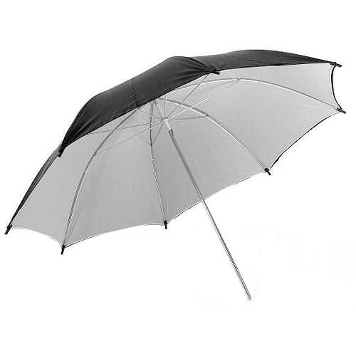 "ALZO 40"" White/Black Backed Photo Umbrella"