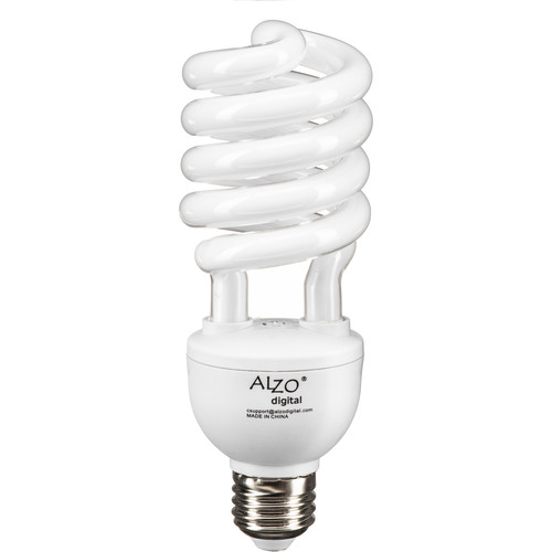 ALZO 120V CFL Video-Lux Photo Light Bulb (3200K, 27W)