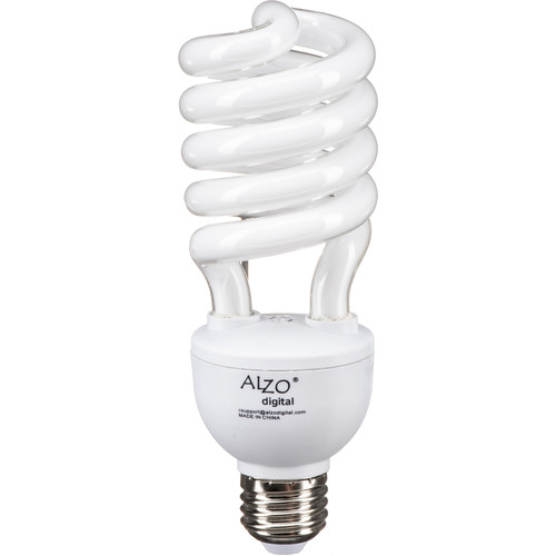 ALZO CFL Photo Light Bulb (27W, 120V)