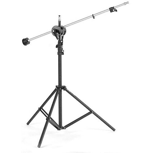 ALZO Mini-Boom with 8' Light Stand for 1.5 lb Light Heads
