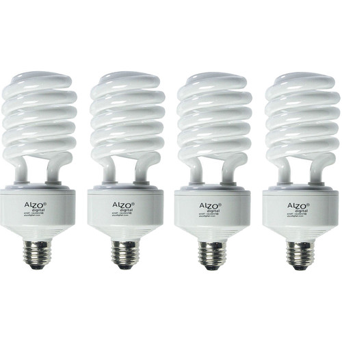 ALZO CFL Photo Light Bulb 4-Pack (45W, 120V)