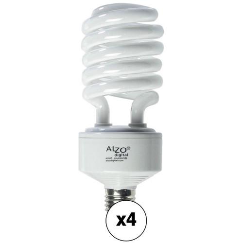 ALZO CFL Photo Light Bulb (45W/120V, 4-Pack)