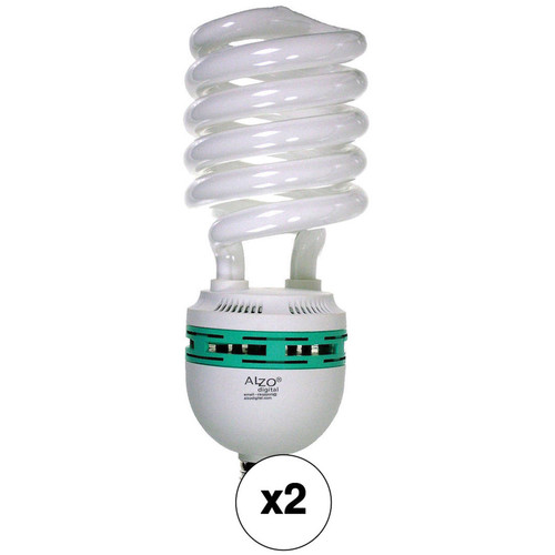 ALZO CFL Video-Lux Photo Light Bulb 2-Pack (85W, 120V)