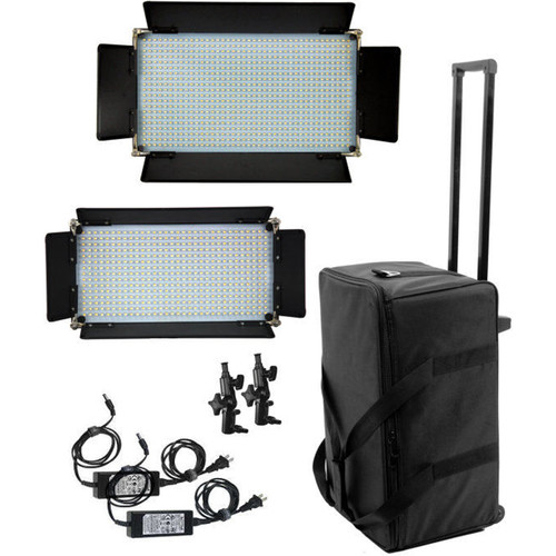 ALZO 16x9 LED 800 & LED 500 Panel Light Kit