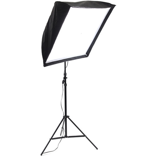 ALZO 200 CFL Umbrella Softbox Light Kit with Stand