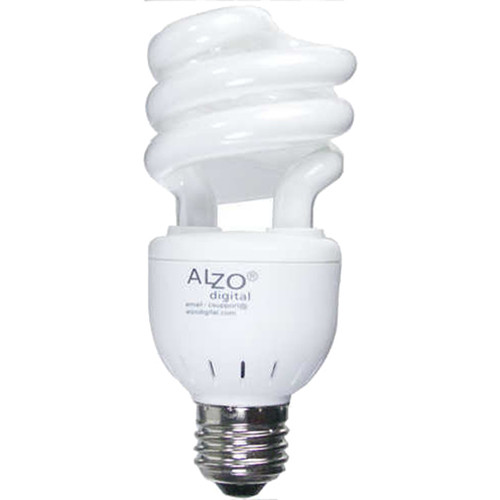 ALZO 120V CFL Video-Lux Photo Light Bulb (3200K, 15W)
