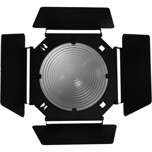 "ALZO Barndoors with 8"" Fixed-Focus Fresnel Lens"