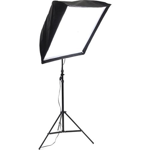 ALZO 200 LED Umbrella Softbox 5500K Light Kit with Stand