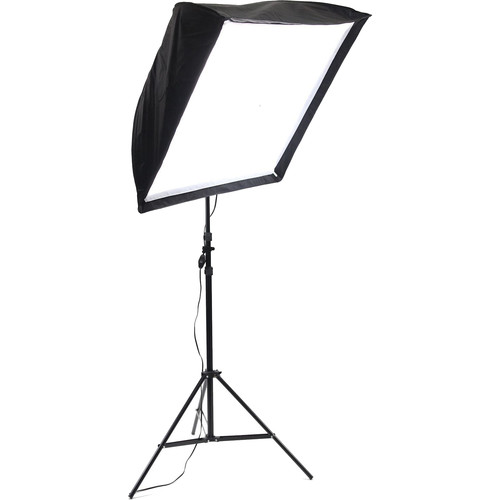 ALZO 200 LED Umbrella Softbox 5500K Light Kit with Stand