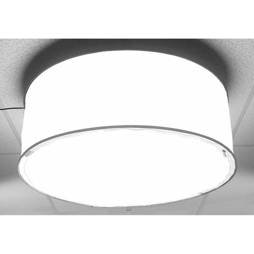 ALZO Drum Overhead Light with 4 CFL Bulbs (5600K)