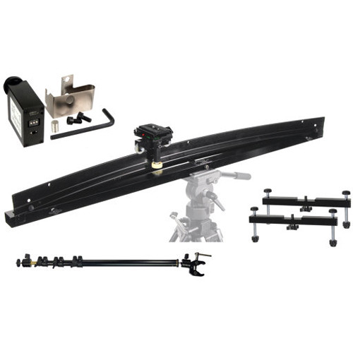 ALZO Smoothy Radius/Curved and Linear Camera Slider Kit with Motor Drive