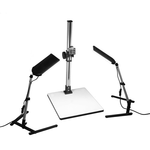 ALZO 100 LED Macro Studio Tabletop Product Photography Kit