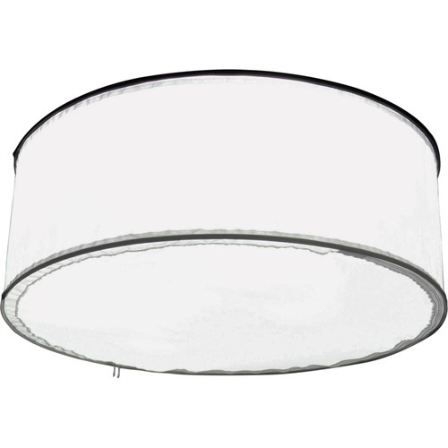 ALZO Drum Overhead Light with 85W 5500K CFL Bulbs