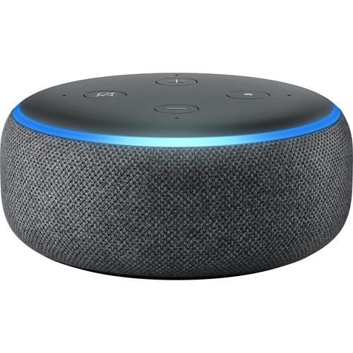 Amazon Echo Dot (3rd Generation, Charcoal)