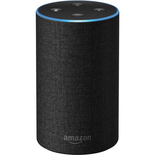Amazon Echo (2nd Generation, Charcoal Fabric)