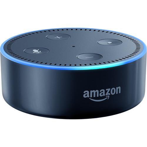 Amazon Echo Dot 3-Pack Kit (2nd Generation, Black)