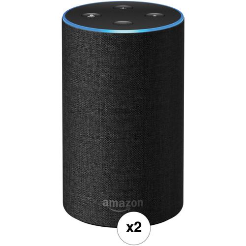 Amazon Echo Pair Kit (Charcoal Fabric)