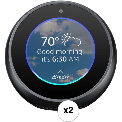 Amazon Echo Spot Pair Kit (Black)